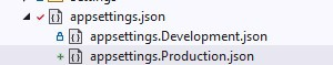 appsettings.json example