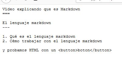 ejemplo markdown