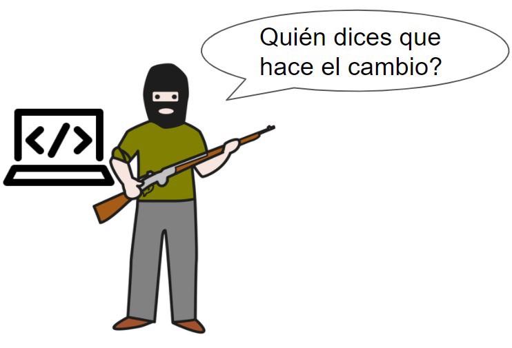 secuestrador de código