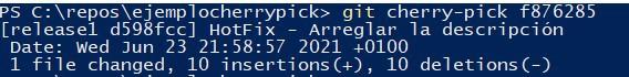 cherrypick command line