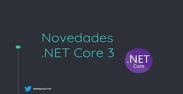 Novedades Net core 3, tipos de referenica nullables, stream asincronos, array slice, patrones recursivos, new expresion implicita, miembros interfaces por defecto