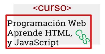 Curso en el que aprenderas a utilizar HTML, CSS y JavaScript para crear paginas web funcionales