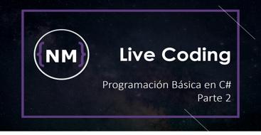 Tutorial live coding con ejercicios basicos 2, aprende a simular un log para tu aplicacion