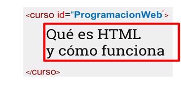 Descubre que es HTML y como funciona, asi como combina con CSS y Javascript