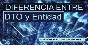 En este post aprenderemos la diferencia entre un DTO y una entidad, así como a versionar nuestros DTO