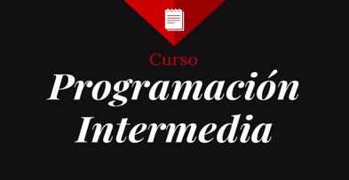 Curso tutorial sobre programación intermedia, aprende a programar para POO